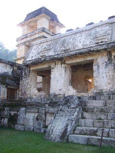 Palenque. Ruinas Mayas. México.