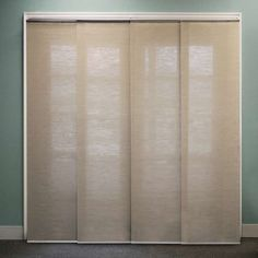 Buy Chicology Adjustable Sliding Panel, Cordless Shade, Double Rail Track, Privacy Fabric, x Nevada Timberwolf: Home & Kitchen – ✓ FREE DELIVERY possible on eligible … Interior Sliding French Doors, Internal French Doors, Interior Barn Doors, Double Doors, Sliding Panels, Sliding Closet Doors, Pantry Doors, Garage Doors, Blinds For Windows