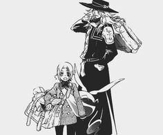 look! it's little Allen and giant Timcampy! KAWAII!