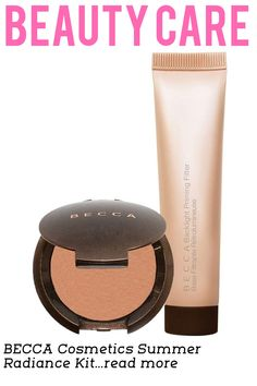 What it is: A duo of travelfriendly essentials that allow you to create a sunkissed, beachy look without ever having to step foot in the sand. What it does: Backlight Priming Filter is a radianceenhancing primer that acts as a filter for the complexion. Infused with a blend of crushed pearls, it creates a perfect canvas for makeup with a luminescent glow. Sunlit Bronzer in Capri Coast is a war...