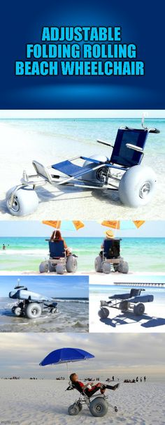 Enjoy dipping your toes in the sand and feeling the spray of the surf in the EZ Roller Rolling Beach Wheelchair. Equipped with WheelEEZ Wheels, the EZ Roller virtually floats across the sand to the water. Because of the(click to continue)#camping #tent #hiking #tactical #outdoors #campingfood #campinghacks #hikinghacks #campfiredinnerrecipes #campingmusthaves #hikingandcamping #campinggear #beach #wheelchair
