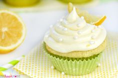 The BEST Lemon Cupcakes start with a simple one-bowl batter and end with a soaking of lemon simple syrup and a topping of fluffy Lemon Cream Cheese Frosting for luscious, lemony, perfectly moist treats! My middle child has apparently inherited my love for any dessert by the name of lemon. So when I told him that I was thinking about making lemon cupcakes, he was way excited. And so was I...because, hellooo? LEMON CUPCAKES. But these aren't your ordinary lemon