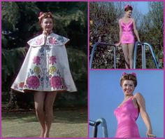 Design by Irene Bathing Beauty: Esther Williams Old Hollywood Glamour, Vintage Hollywood, Hollywood Stars, Classic Hollywood, Vintage Tv, Vintage Style, Fashion Tv, Star Fashion, 1940s Fashion