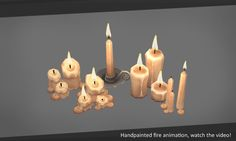 Hi all!  I have something to show you. It is a fire animation (handpainted), this is not particle. It is for sale!  Video demo https://www.assetstore.unity3d.com/en/#!/content/34506