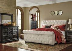 Willenburg Linen King Upholstered Bed, /category/bedrooms/willenburg-linen-king-upholstered-bed-1.html