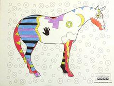 """""""Spirit War Pony"""" by Ann Yarbrough"""