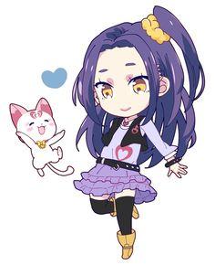 Suit Precure Siren Pretty Cure Cat Hummy Chibi