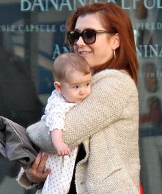 It's Alyson Hannigan! --     Alyson Hannigan of Buffy, the Vampire Slayer, American Pie and How I Met Your Mother just gave birth to little Keeva Jane. Dad is Alexis Denisof.
