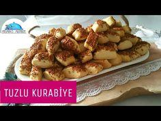 TUZLU KURABİYE Tarifi|Kıyır Kıyır|Kurabiye Tarifleri|Masmavi3Mutfakta - YouTube Turkish Recipes, Ethnic Recipes, Bread And Pastries, Baked Potato, French Toast, Tart, Cookies, Breakfast, Youtube