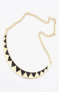 Gold and Black Egyptian Collar Necklace Valentine Birthday Gift Coachella