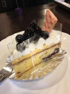 Blueberry Cake,...truly Magical!