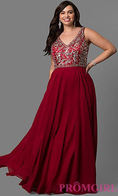 Plus Size Prom Dresses, Evening Gowns