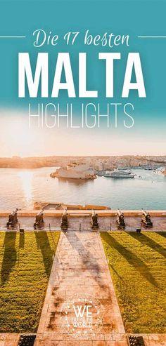 Die 17 besten Malta Highlights The island state of Malta is considered a jewel in the Mediterranean. Us Travel, Places To Travel, Travel Europe, Malta Holiday, Malta Valletta, Malta Gozo, Holiday Accommodation, Okinawa Japan, Europe Destinations
