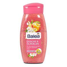 Balea Shower Gel & Oil Beads With Peach Fragrance 250 ml (Balea Dusche & Ölperlen mit Pfirsich-Duft) The Balea Shower Gel with rich oil beads ensures a delicate Dm Online Shop, Balea, Just Peachy, Shower Gel, Shampoo, Fragrance, Skin Care, Creme, Beauty Products
