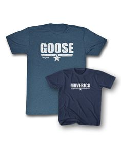 ceaef393d Another great find on Heather Navy 'Goose' & 'Maverick' Tee Set - Men,  Toddler & Boys by Top Gun