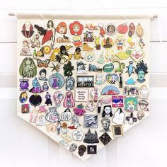 Pin Badge Display Pennant Flag Plain Blank Canvas Banner Lapel Enamel Pin board storage patches Scout or National Park Patch Organizer Pin Collection Displays, Disney Pin Display, Banner, Diy Tumblr, Pin And Patches, Jacket Patches, Disney Pins, Disney Trading Pins, Displaying Collections