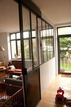 1000 images about verri re on pinterest atelier - Porte coulissante de separation ...