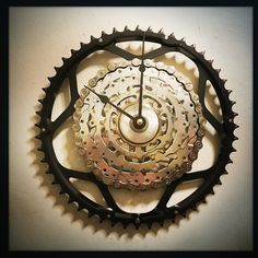 just imagine how the cycling fan in your life would love one of my Bike Gear Wall Clocks under the tree, only 86 days away!