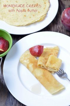 Day wishes Looking for delicious apple recipes for kids You absolutely MUST try this amazing (if I do say so myself) homemade crepes with apple butter recipe. My kids devoured it! Plus check out more amazing apple recipes! Healthy Lunches For Kids, Easy Snacks, Kids Meals, Cook Meals, Family Meals, Kid Snacks, Toddler Snacks, Easy Meals, Brunch Recipes