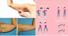 Es posible adelgazar los brazos con estos 4 movimientos simples de realizar y en casa, si eres constante podrás tonificar y evitar la flacidez de los brazos