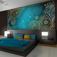 50 Best Bedroom Interior Design Ideas With Luxury Touch is part of Luxury bedroom design - A number of interior designers have had successes from previous designs that capture the plain white room into something that […] Luxury Bedroom Design, Modern Bedroom, Interior Design, Contemporary Bedroom, Bedroom Simple, Stylish Bedroom, Modern Wall, Modern Interior, Ornament Tapete