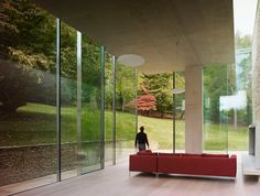 woodchester house/robert grace via: blueverticalstudio