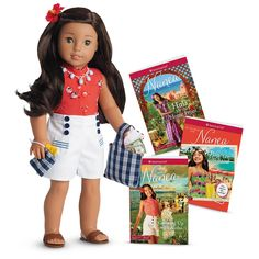 American Girl Nanea™ Doll, Book & Accessories