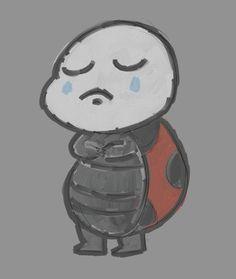 Sad Ladybug by on DeviantArt Ladybug, Smurfs, Digital Art, Sad, Fictional Characters, Lady Bug, Ladybugs, Fantasy Characters