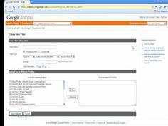 Google Analytics Custom Filters Webinar