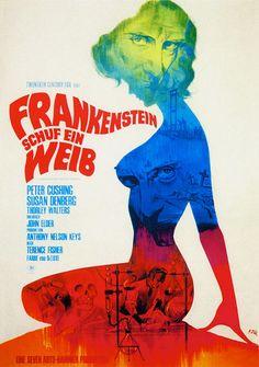 Frankenstein Created Woman, versão alemã