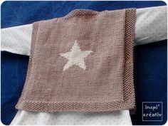Diagramme pour r�aliser une �toile au tricot