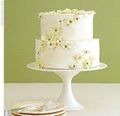Earthy Wedding Cakes