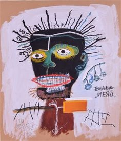 View No Title by Jean-Michel Basquiat on artnet. Browse more artworks Jean-Michel Basquiat from Art Master Collection. Jean Basquiat, Jean Michel Basquiat Art, African American Artist, American Artists, Keith Haring, Andy Warhol, Basquiat Paintings, Summer Art Projects, Black Love Art