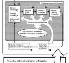 Helping students become self-regulated learners - 7 useful principles grounded in the literature | Nicol & Macfarlane-Dick (2006) Domain Knowledge, Great Thinkers, Self Regulation, Self Assessment, Business School, Higher Education, Behavior, Literature, Students