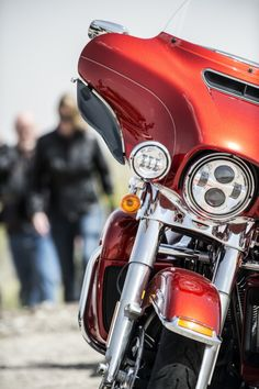The face of luxurious long haul performance. I Harley-Davidson Project RUSHMORE Ultra Classic