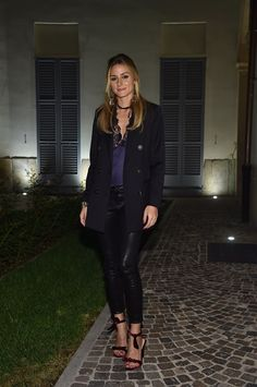 OLIVIA PALERMO - close Antonia e Alexandre Birman Dinner - Milano Fashion Week: tutti gli eventi - September 2016 - Vogue.it