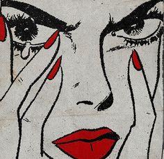 Art pop illustration by Jean Mosambi Comic Kunst, Comic Art, Bollywood, Inspiration Art, Art Inspo, Soundtrack, Arte Dope, Jazz, Red Aesthetic
