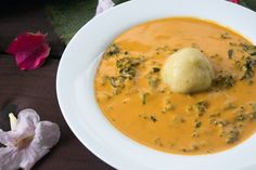 This African cuisine is mostly eaten in Congo. This is a Congolese cuisine made of Kale and Fufu with very rich flavor.