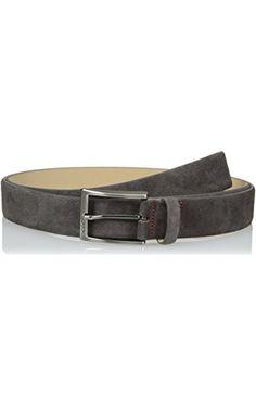 HUGO Hugo Boss Men's C-Gabello, Dark Grey, 30 ❤ Hugo Boss Men's Belts and Wallets