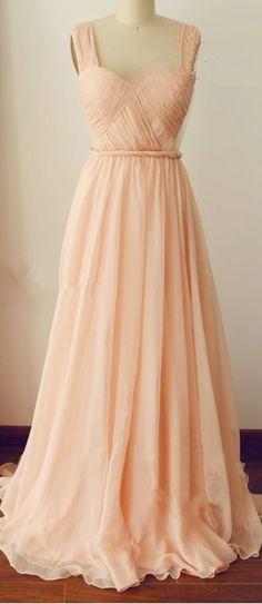 Backless Prom Dress,Elegant Handmade A-Line Floor Length Straps Prom Dress With Sequins