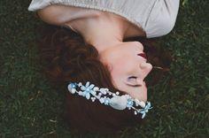 coroa de concha guirlanda de concha headband by ViralArtBrasil