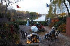 "J Seward Johnson's ""If It Were Time"""