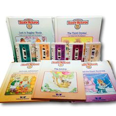 1985 Teddy Ruxpin Hardcover Books with Cassettes Tapes WOW Worlds of Wonder by ThisIs40BooksToys on Etsy