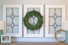 diy vintage inspired window panes