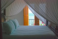 Bed @ Horned Dorset, Puerto Rico #travel #photography