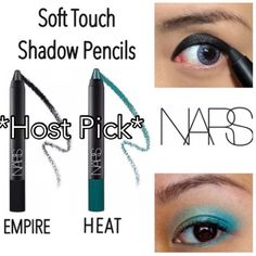 2 Nars Soft Touch Shadow Pencils 2 Nars soft touch shadow pencils in Empire & Heat. The shadow pencils provide easy, portable, long wearing application. These pencils have versatile functionality to shade the lid, line, or highlight the eye. NWOB. Never used or swatched. 100% Authentic. No Trades. ✨Note: All products are free from detectable defects by me unless otherwise stated in the description. All products are sold as is & without refunds or returns.✨ NARS Makeup Eyeshadow