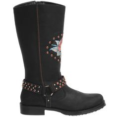 Harley-Davidson Pamela Motorcycle Boots - Leather (For Women)