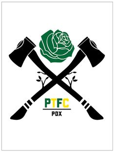 Portland Timbers (great crossed axes)