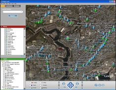 Live Map, User Interface, Earth, Google, Driving Directions, Windows 8, Free, Maps, Street View