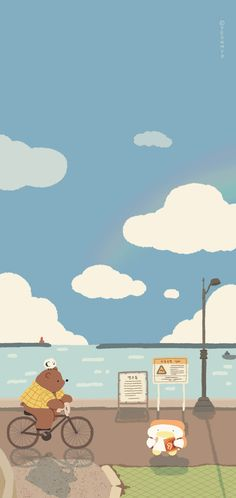Wallpaper Backgrounds, Lines Wallpaper, Homescreen Wallpaper, Kawaii Wallpaper, Iphone Wallpaper, Home Lock Screen, Cute Cartoon Wallpapers, Cartoon Art, Cute Drawings